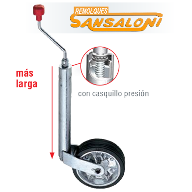 Rueda Hockey PLUS 300 Kg